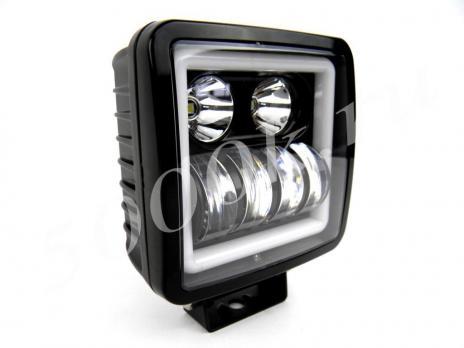 LED фара 35w MS16+ DRL COMBO 100мм
