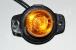 Указатель габаритов 12/24в LED желтый (шайба)