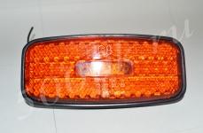 Указатель габаритов 12/24в LED желтый (борт)