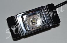 Указатель габаритов 12/24в LED белый (квадрат)