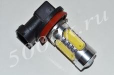 Лампа светодиодная H11 12v 5led