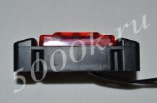 Указатель габаритов 12/24в LED красный (квадрат)