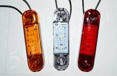 Указатель габаритов 12/24в LED красный (плата)