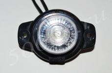 Указатель габаритов 12/24в LED белый (шайба)