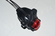 Указатель габаритов 12/24в LED красный