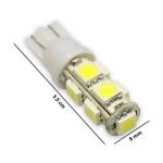 Светодиодная лампа T10 9led 24v