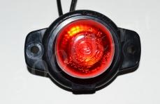 Указатель габаритов 12/24в LED красный (шайба)